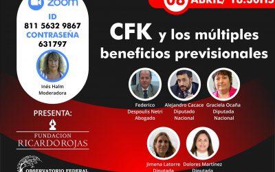 Resumen – Encuentro Zoom CFK y los múltiples beneficios previsionales